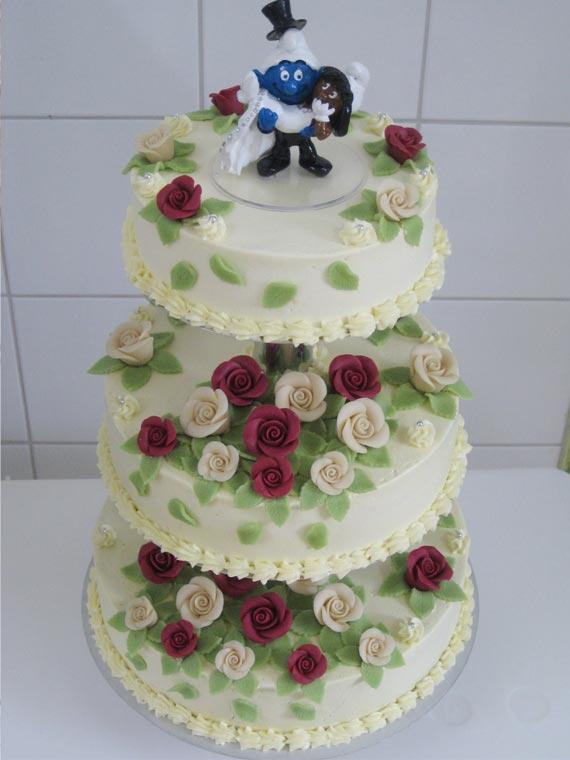 Hochzeitstorte Beispiel