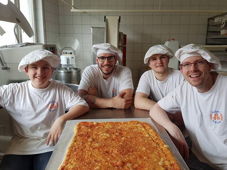 Team Körbers Backstube mit Leidenschaft fürs Backen